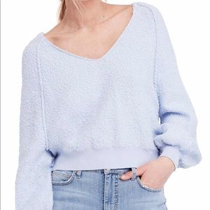 Free People Found My Friend Vneck Pullover